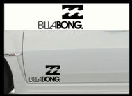 BILLABONG (1) CAR BODY DECALS